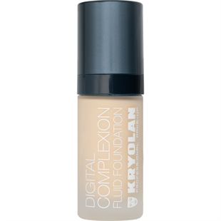 Kryolan Digital Complexion Fluid Foundation Likit Fondöten 30 ml