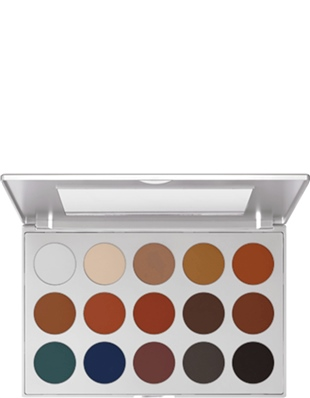 Kryolan Eye Shadow Palette-Far Paleti