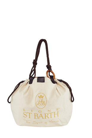 St Barth Beige Bag